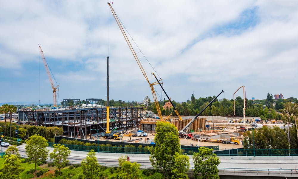 Star Wars Land Construction Update Disney Tourist Blog