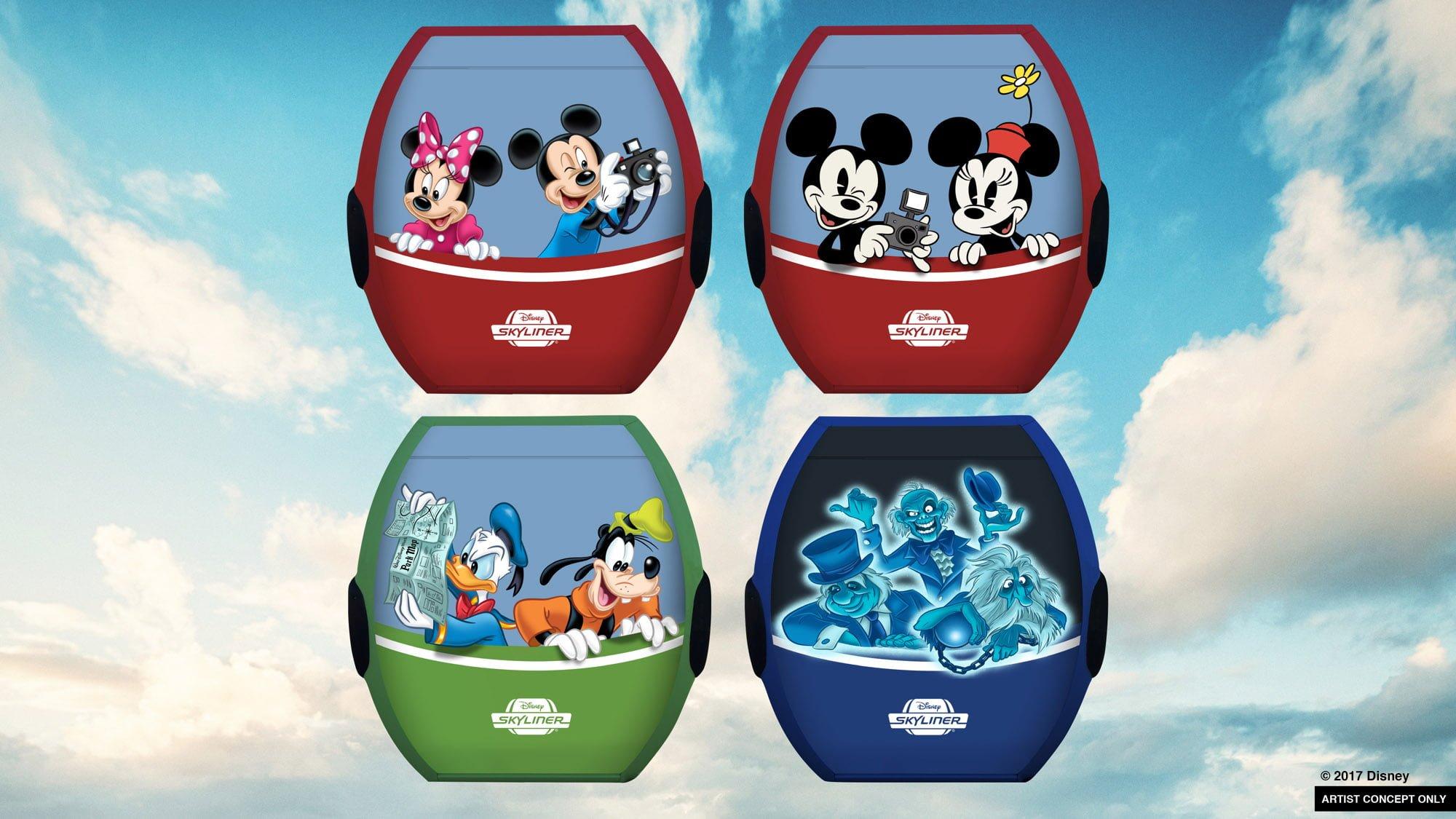 Skyliner Gondolas Announced For Disney World Disney