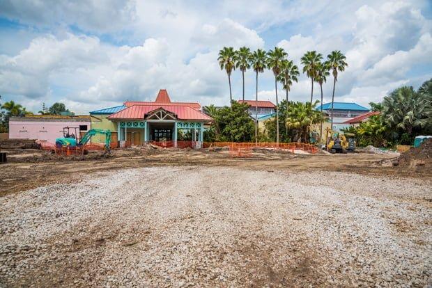 Caribbean Beach Resort Construction Update