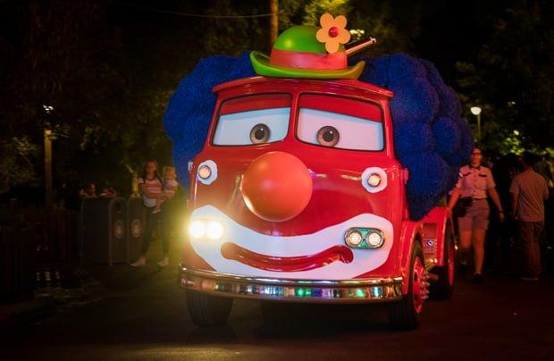 Disneyland Hotel Overnight Parking