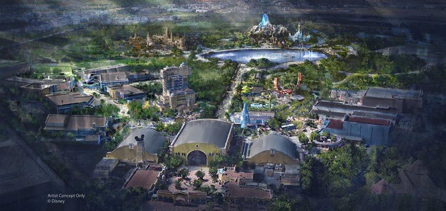 $2.5 Billion Disneyland Paris Expansion: Star Wars, Frozen