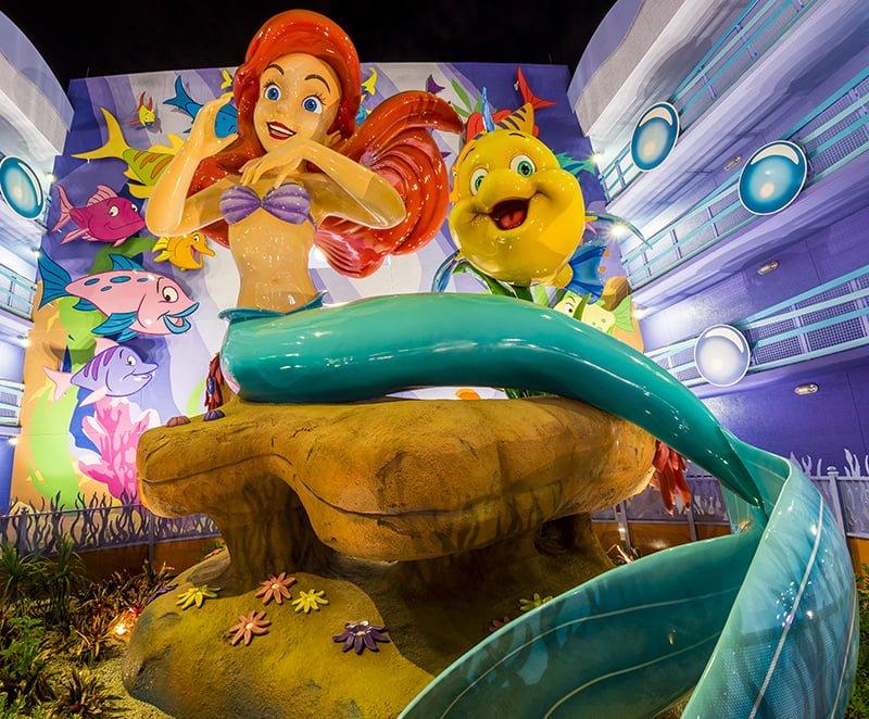 Little mermaid room review disney tourist blog for Asino amiatino